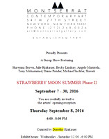 Montserrat Contemporary Art Chelsea, NYC Group Show       Sept 7-30 2016